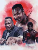 Larry Holmes Signed 16x20 Photo (PSA COA) at PristineAuction.com