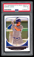 Aaron Judge 2013 Bowman Draft Draft Picks #BDPP19 (PSA 10) at PristineAuction.com