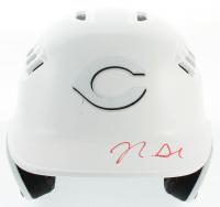 Nick Senzel Signed Reds Matte White Full-Size Batting Helmet (PSA COA) at PristineAuction.com
