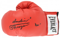 "Muhammad Ali & ""Smokin""Joe Frazier Signed Everlast Boxing Glove (PSA LOA) at PristineAuction.com"