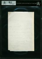 Martin Van Buren Signed 1858 Letter (BAS Encapsulated) at PristineAuction.com