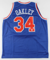 Charles Oakley Signed Jersey (JSA COA) at PristineAuction.com