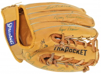 """MLB Greats"" Baseball Glove Signed by (13) with Roger Maris, Joe Cronin, Jim Coates, Frank Crosetti, Bud Daley, Earle Combs, Moose Skowron (JSA COA) at PristineAuction.com"