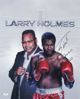 """Larry Holmes Signed 16x20 Photo Inscribed """"Peace 2020"""" (PSA COA) at PristineAuction.com"""