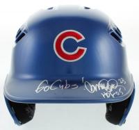 """Ryne Sandberg Signed Cubs Full-Size Batting Helmet Inscribed """"Go Cubs"""" & """"HOF 05"""" (PSA COA) at PristineAuction.com"""