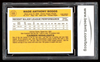 Wade Boggs 1983 Donruss #586 RC (BCCG 10) at PristineAuction.com