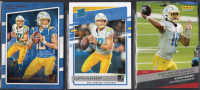 Lot of (3) Justin Herbert Rookie Cards with 2020 Donruss Gridiron Kings #RGKJH, 2020 Donruss RR #303 and 2020 Instant #47 at PristineAuction.com