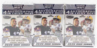 Lot of (3) 2020 Sage Premier Draft Football Boxes with (72) Cards Each at PristineAuction.com