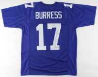Plaxico Burress Signed Jersey (PSA COA) at PristineAuction.com