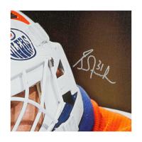 Grant Fuhr Signed Oilers 20x24 LE Photo on Canvas (UDA COA) at PristineAuction.com