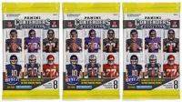 Lot of (3) 2017 Panini Contenders Football Packs of (8) Cards at PristineAuction.com