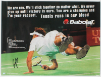 Andy Roddick Signed 24x32 Poster (Palm Beach Hologram) at PristineAuction.com