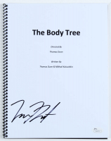 "Emma Dumont Signed ""The Body Tree"" Movie Script (JSA COA) at PristineAuction.com"