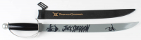 """Johnny Depp Signed """"Pirates of the Caribbean"""" Replica Sword (PSA Hologram) at PristineAuction.com"""