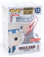 "Robert O'Neill Signed ""American History"" #12 Uncle Sam Funko Pop! Vinyl Figure (PSA Hologram) at PristineAuction.com"