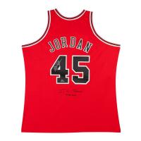 Michael Jordan Signed Bulls LE Jersey (UDA COA) at PristineAuction.com