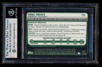 Mike Trout 2011 Bowman Chrome #175 RC (BGS 8.5) at PristineAuction.com