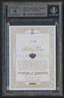 Anthony Davis 2012-13 Panini Flawless Team Panini Autographs #49 RC - #08/10 (BGS 9) at PristineAuction.com