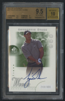 Tiger Woods 2001 SP Authentic #45 Authentic Stars Autograph RC - #240/900 (BGS 9.5) at PristineAuction.com