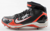 Miguel Tejada Signed Game-Used Nike Baseball Cleat (Palm Beach COA) at PristineAuction.com