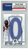 Michael Jordan 2013-14 SP Authentic By the Letter Signatures #BLMJ (Fanatics Encapsulated) at PristineAuction.com