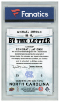 Michael Jordan 2013-14 SP Authentic By the Letter Signatures #BLMJ (Fanatics Encapsulated) at PristineAuction.com