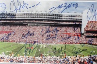 """2006 Florida Gators National Champions 13.5x38 Photo Team-Signed by (38) with Chris Leak, Percy Harvin, Dallas Baker, Reggie Nelson Inscribed """"06 BCS MVP"""" (Palm Beach COA) at PristineAuction.com"""