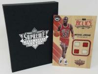 Michael Jordan 2016-17 Upper Deck Supreme Hardcourt NBA 5x7 Relics #NBARMJ at PristineAuction.com