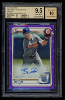 Bobby Witt Jr. 2020 Bowman Prospect Autographs Purple #PABWJ (BGS 9.5) at PristineAuction.com