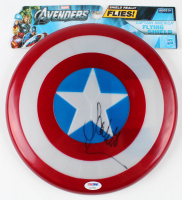 "Scarlett Johansson Signed ""Captain America"" Marvel Replica Plastic Shield (PSA COA) at PristineAuction.com"