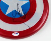 """Scarlett Johansson Signed """"Captain America"""" Marvel Replica Plastic Shield (PSA COA) at PristineAuction.com"""