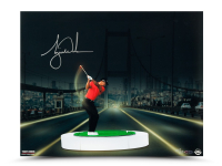 Tiger Woods Signed 16x20 LE Photo (UDA COA) at PristineAuction.com
