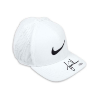 Tiger Woods Signed Nike Aerobill White Golf Cap (UDA COA) at PristineAuction.com
