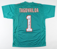 "Tua Tagovailoa Signed Jersey Inscribed ""Roll Tide"" (Beckett COA) at PristineAuction.com"