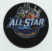 Andrei Vasilevskiy Signed Lightning 2018 All-Star Logo Hockey Puck (YSMS Hologram) at PristineAuction.com