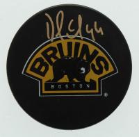Dennis Seidenberg Signed Bruins Logo Hockey Puck (Seidenberg COA) at PristineAuction.com