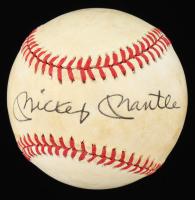Mickey Mantle Signed OAL Baseball (JSA ALOA) at PristineAuction.com