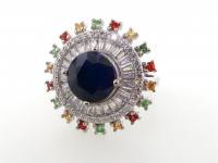 5.55ct Natural Sapphire Ring (GAL Certified) at PristineAuction.com