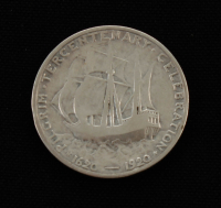 1920 Pilgrim Tercentenary Silver Commemorative Half Dollar at PristineAuction.com