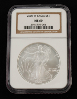 2006 American Silver Eagle $1 One Dollar Coin (NGC MS69) at PristineAuction.com
