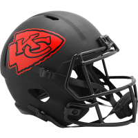Chiefs Full-Size Eclipse Alternate Speed Helmet at PristineAuction.com