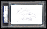 "George Raft Signed 3x5 Index Card Inscribed ""My Best"" (PSA Encapsulated) at PristineAuction.com"