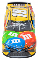 Kyle Busch Signed NASCAR #18 M&M's 2018 Camry - ISM Raceway Win - 1:24 Premium Action Diecast Car (PA Hologram & Beckett COA) at PristineAuction.com