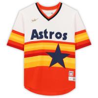 "Nolan Ryan Signed Astros Jersey Inscribed ""H.O.F. '99"" (MLB Hologram) at PristineAuction.com"