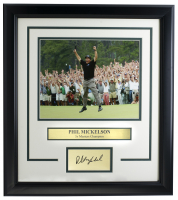 Phil Mickelson 14x18 Custom Framed Photo Display at PristineAuction.com