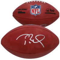 "Tom Brady Signed ""The Duke"" Official NFL Game Ball (Fanatics Hologram) at PristineAuction.com"
