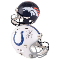 Peyton Manning Signed Colts / Broncos Full-Size Authentic On-Field Revolution Helmet (Fanatics Hologram) at PristineAuction.com