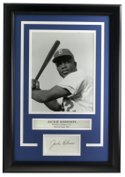 Jackie Robinson 14x18 Custom Framed Photo Display at PristineAuction.com