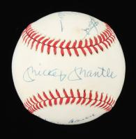 500 Homerun Club OAL Baseball Signed by (10) by Mickey Mantle, Ernie Banks, Hank Aaron, Reggie Jackson, Ted Williams, Harmon Killebrew (JSA ALOA) at PristineAuction.com