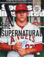 Mike Trout Signed Angels 11x14 Photo (PSA Hologram) at PristineAuction.com
